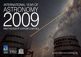IYA2009 Partner Opportunities Brochure