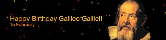 تولد گالیله!