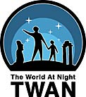 Logo: The World at Night