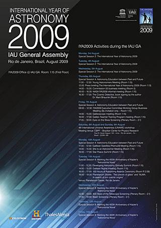 IYA2009 Poster IAU GA