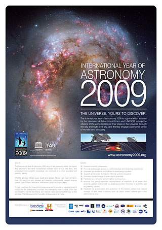 IYA2009 Poster in English