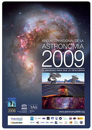 IYA2009 Poster in Spanish