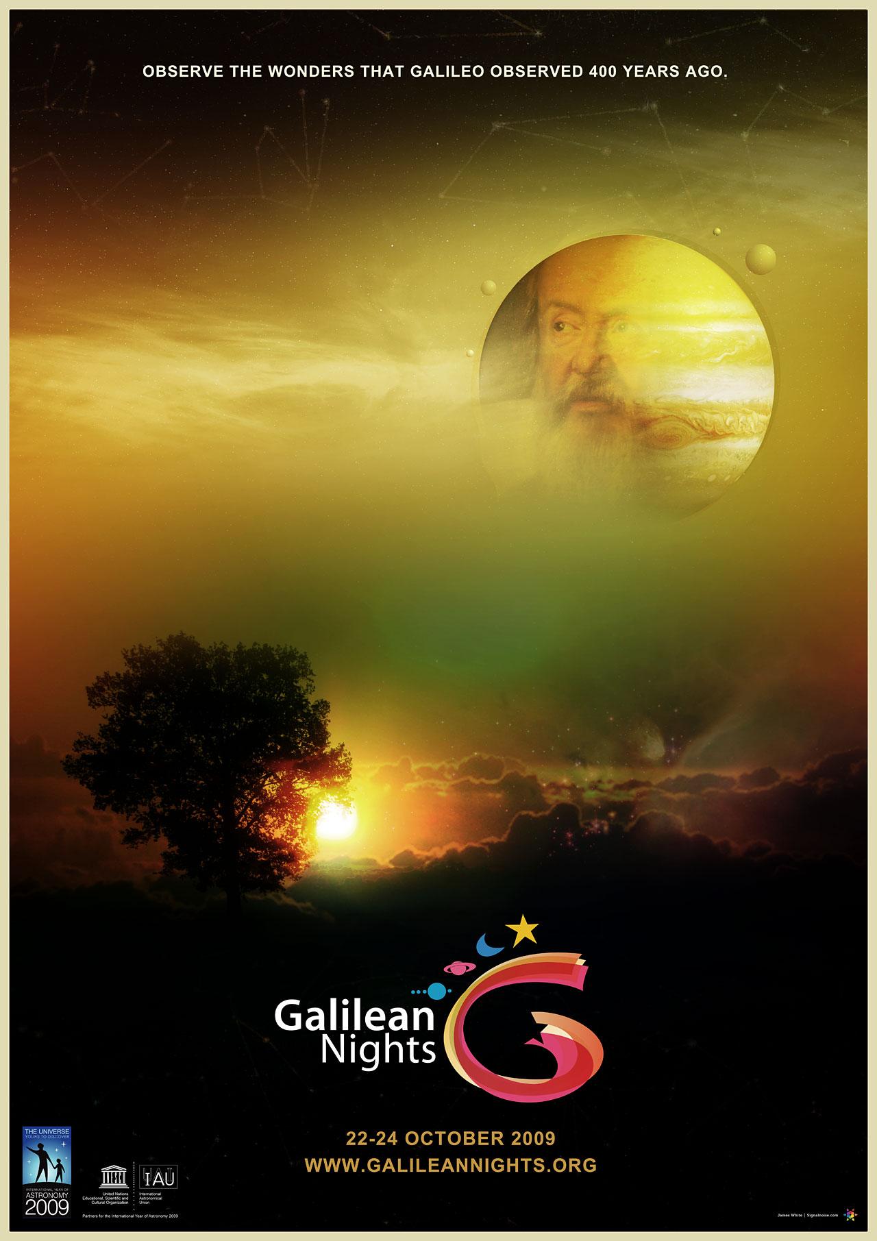 Galilean Nights Teaser Poster