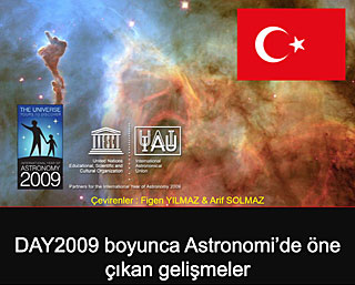 Astronomy highlights during IYA2009 (in Turkish)