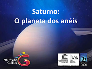 Saturn - Galilean Nights (in Portuguese)