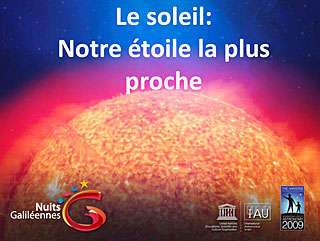 The Sun - Galilean Nights (in French)