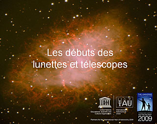 Telescopic Discovery:how did it all begin? (in French)